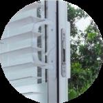 Ventanería en PVC termoacústico