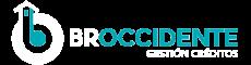 Logo broccidente gestión de créditos